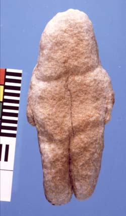 The quartzite figurine from Tan-Tan in Morocco, the earliest evidence of its kind, is estimated to be about 400 000 years old.