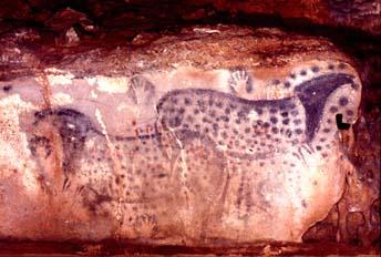 Pech Merle, France, Upper Palaeolithic