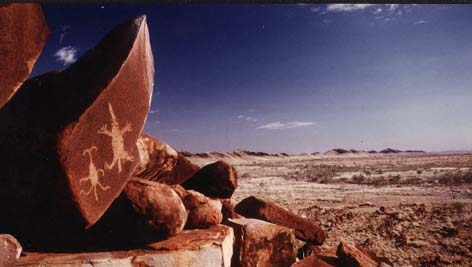 Pilbara petroglyphs, Australia