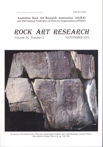 Rock Art Research, November 2012 issue